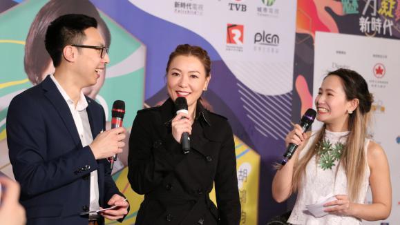 「魅力凝聚新時代」記者會及簽名會 - TVB偶像全接觸