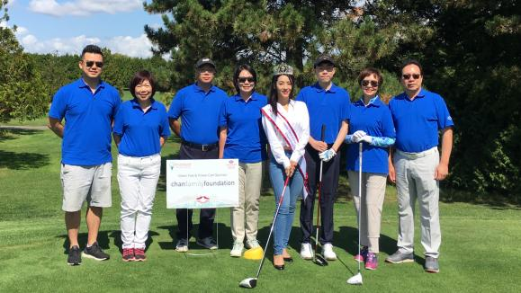 Alice Lin Attends S.U.C.C.E.S.S Charity Golf Tournament