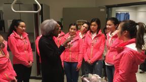 溫哥華華姐參觀卑詩癌症中心
