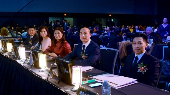 Judge panel (left to right): Chengxin Wei, Kelly Kuo, Denice Wai, Kenneth Lo and Marquis Lung