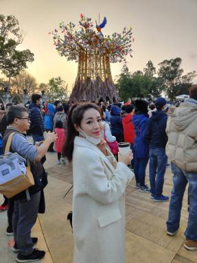 MCVP 2018 Alice Lin at the Taiwan Lantern Festival