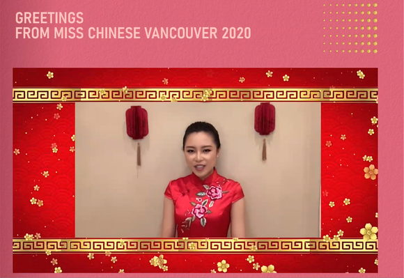 Miss Chinese Vancouver Amy Tso and Julianne Nieh Participate in LunarFest
